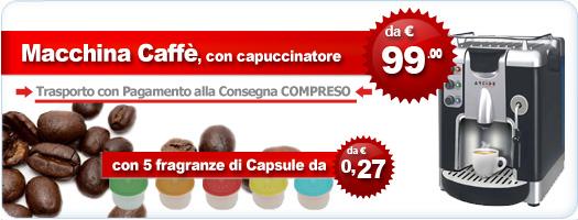Macchina da Caffè Espresso e Cialde Caffè