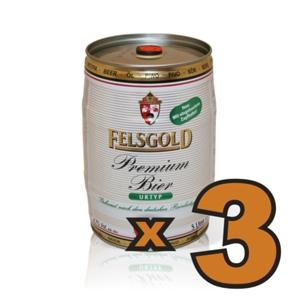 n.3 Fustini di Birra da 5lt per Spillatore Birra