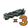 Spazzola Battitappeto per Aspirapolvere Robot serie A1
