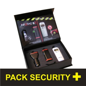Inforad K1 + Misuratore Alcolemico (pack security plus)