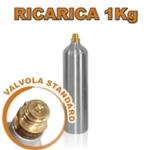 Ricarica 1 Bombola da 1kg. (solo per Gasatore JET)