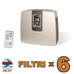 Purificatore Ionizzatore d'Aria serie i3 con 6 Cambi Filtri